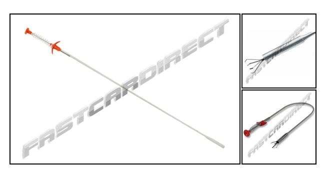 600mm CLAW PICK UP TOOL SPRING LOADED RETRIEVES SMALL