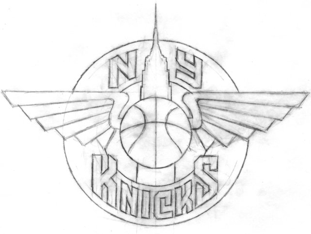 The All-Star NY Knicks Logo That Should Have Been