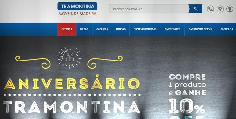 CASE: Loja Virtual Móveis Tramontina