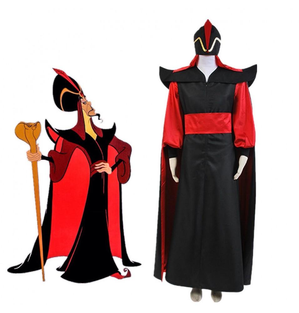 Aladdin Princess Jasmine Deluxe Dress Cosplay Costume