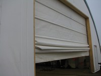 Fabric Building Doors | Fabric roll-up doors