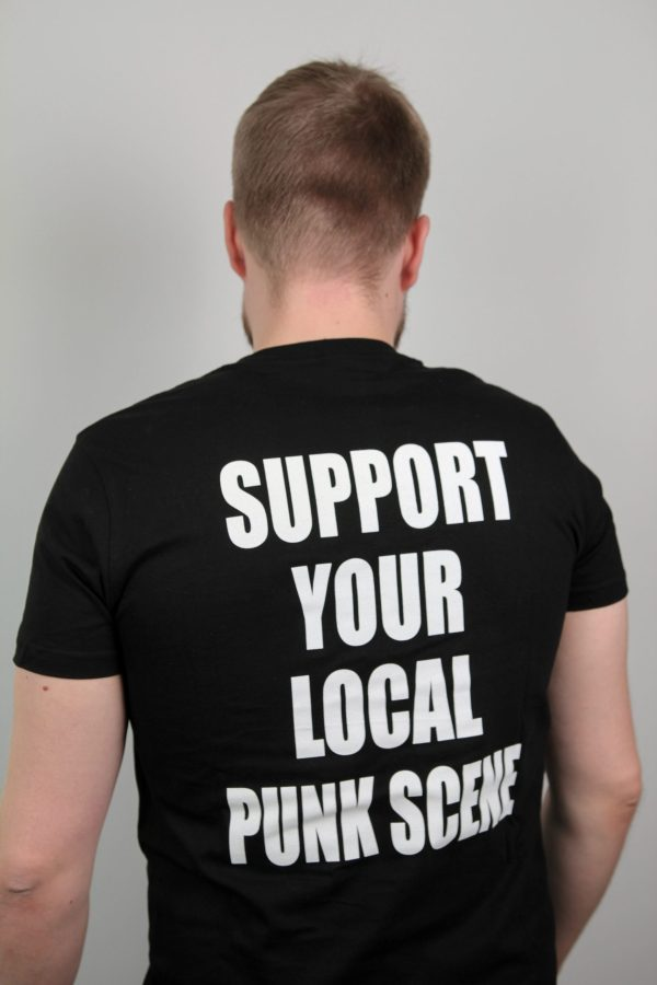 Fast Decade Records t-shirt support back