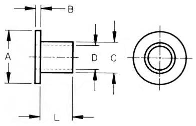 Nylon Shoulder Washers [Nylon Shoulder Washers] : E&T