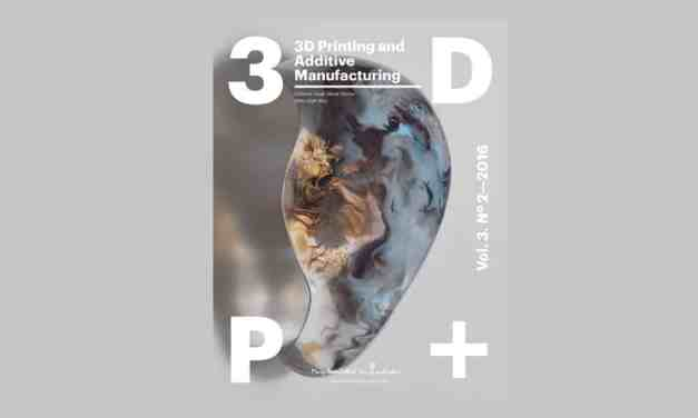 3D Printing and Additive Manufacturing, June 2016
