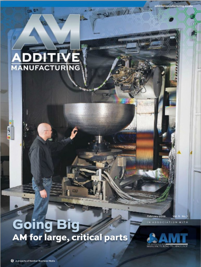 Additive Manufacturing February 2016