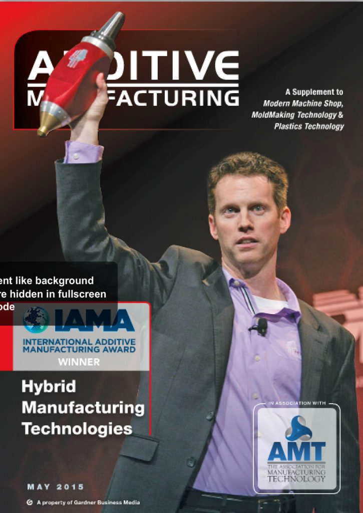 Additive Manufacturing May 2015