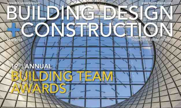 Building Design + Construction, May 2016