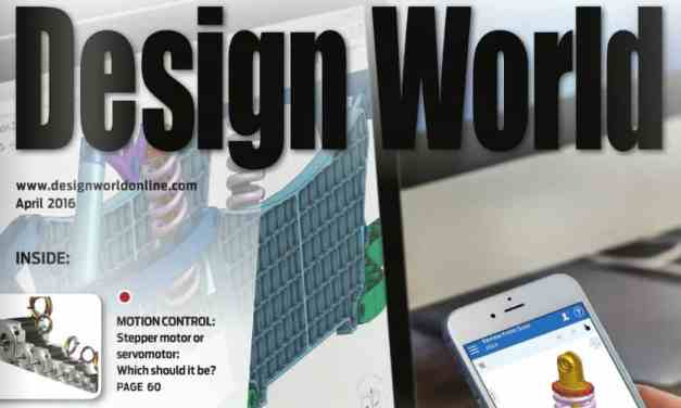 Design World, April 2016