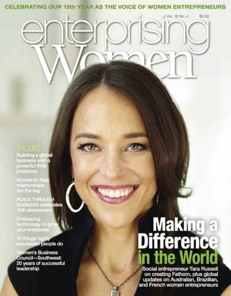 Enterprising Women Spring 2016 COVER