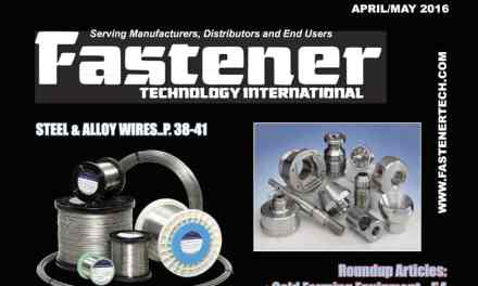 Fastener Technology International, April/May 2016