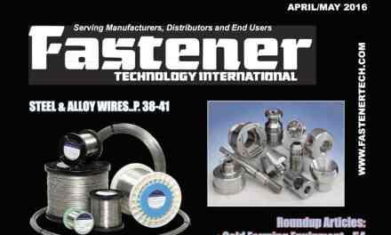 Fastener Technology International, April/May 2016