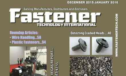 Fastener Technology International, December 2015 / January 2016