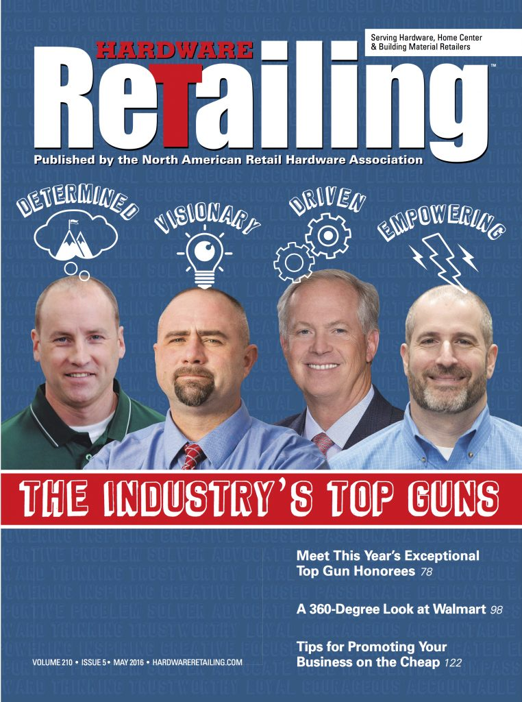 Hardware Retailing May 2016 COVER