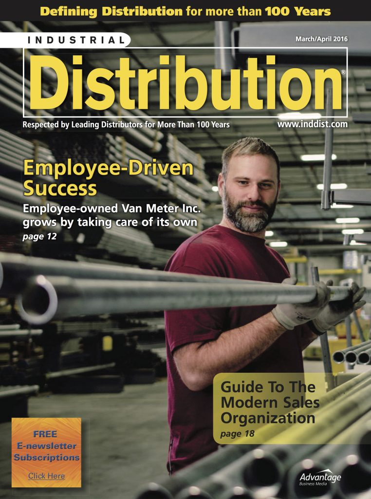 Industrial Distribution March April 2016 COVER