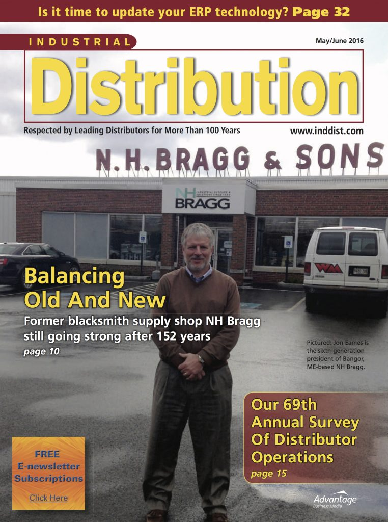 Industrial Distribution May June 2016 COVER