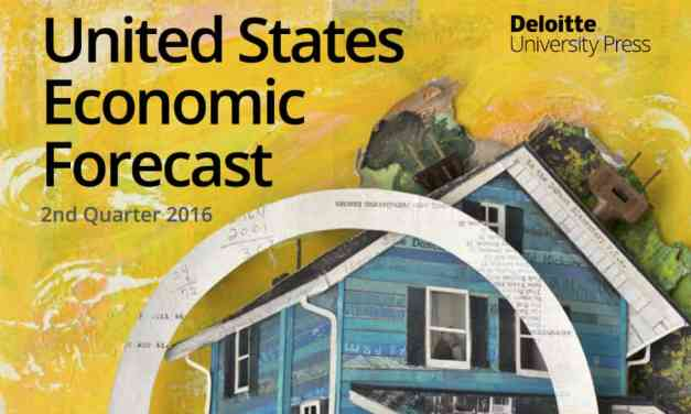 US Economic Forecast, 2nd Quarter 2016