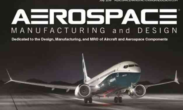 Aerospace Manufacturing and Design, July 2016