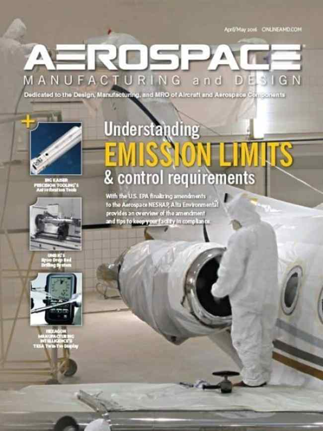 Aerospace Manufacturing Design April May 2016