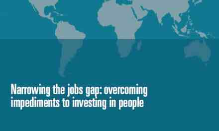Narrowing the jobs gap: overcoming impediments to investing in people