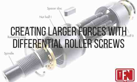 Creating Larger Forces with Differential Roller Screws