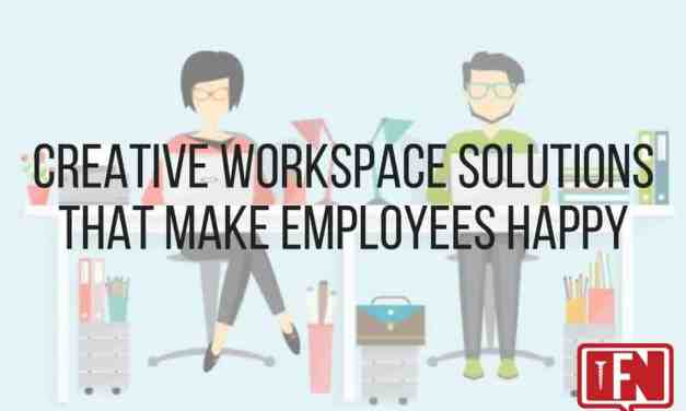 Creative Workspace Solutions that Make Employees Happy