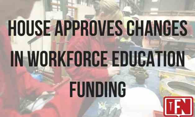House Approves Changes in Workforce Education Funding