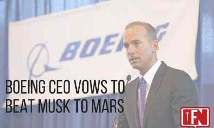 Boeing CEO Vows to Beat Musk to Mars