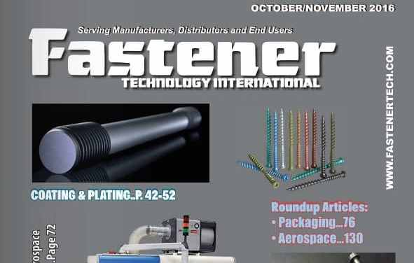 Fastener Technology International, October/November 2016