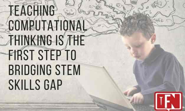 Teaching Computational Thinking Is the First Step to Bridging STEM Skills Gap
