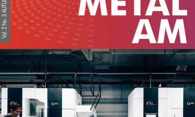 Metal Additive Manufacturing, Autumn 2016