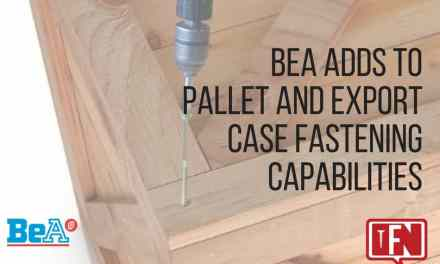 BeA Adds to Pallet and Export Case Fastening Capabilities