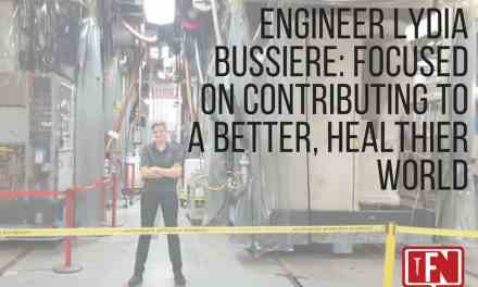Engineer Lydia Bussiere: Focused on Contributing to a Better, Healthier World