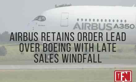 Airbus Retains Order Lead over Boeing with Late Sales Windfall