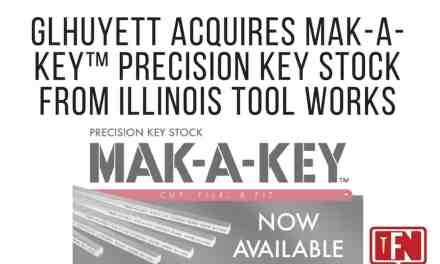 G.L. Huyett Acquires MAK-A-KEY™ Precision Key Stock from Illinois Tool Works