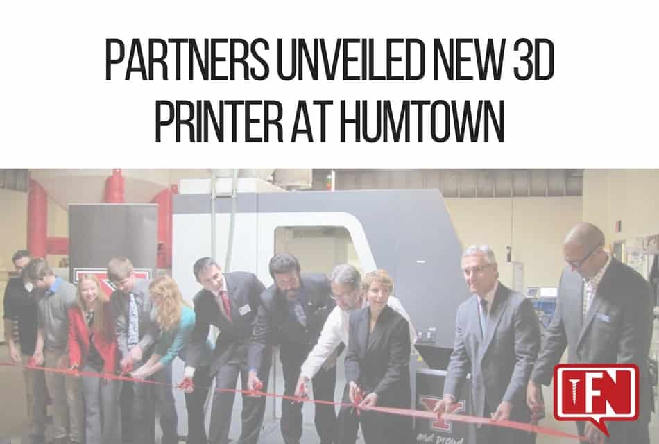 Partnership Ushers in New Age of Manufacturing