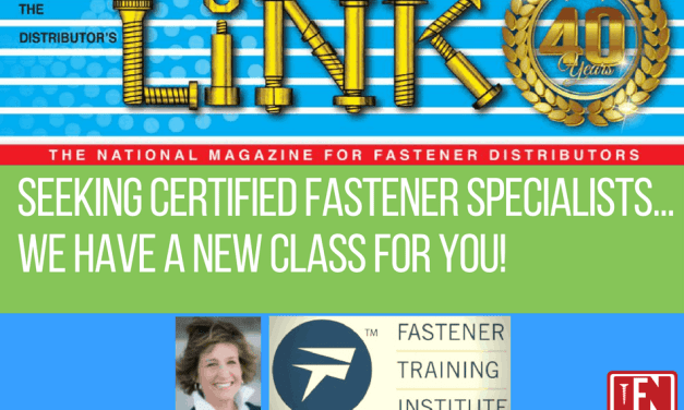 Seeking Certified Fastener Specialists…We Have a New Class for You!