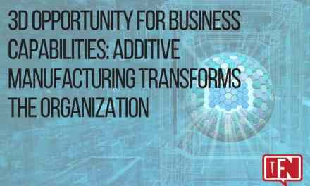 3D Opportunity for Business Capabilities: Additive Manufacturing Transforms the Organization