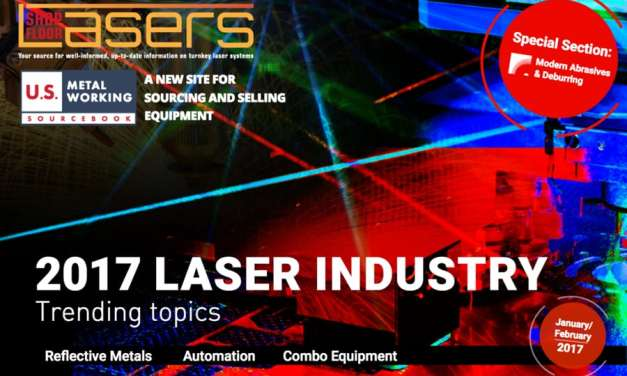 Shop Floor Lasers, January/February 2017