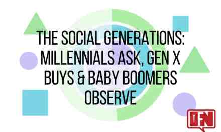 The Social Generations: Millennials Ask, Gen X Buys & Baby Boomers Observe