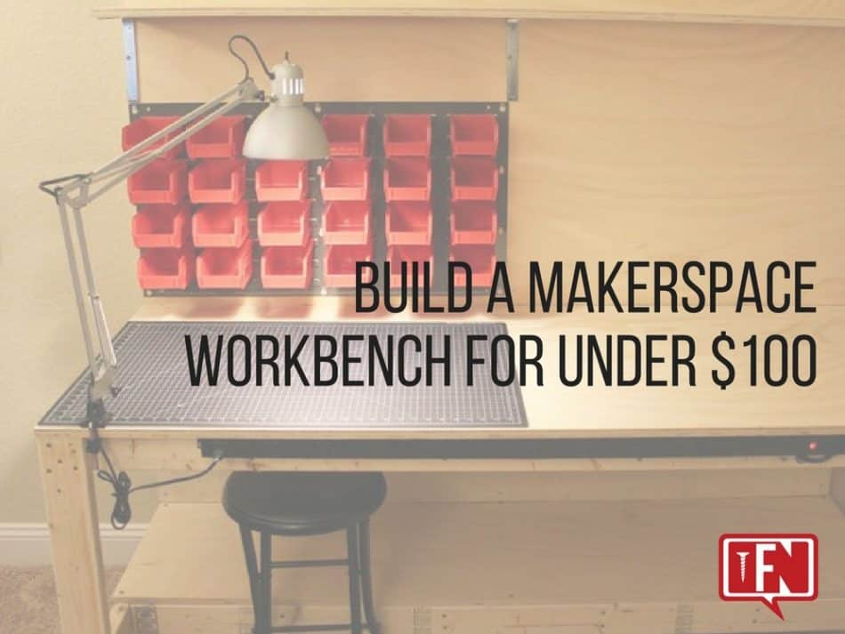 Swell Build A Makerspace Workbench For Under 100 Pdpeps Interior Chair Design Pdpepsorg