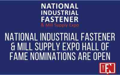 National Industrial Fastener & Mill Supply Expo Hall of Fame Nominations are Open