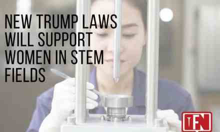 New Trump Laws Will Support Women in STEM Fields
