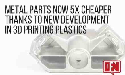 Metal Parts Now 5x Cheaper Thanks to New Development in 3D Printing Plastics