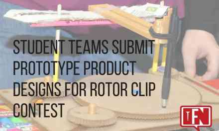 Student Teams Submit Prototype Product Designs for Rotor Clip Contest
