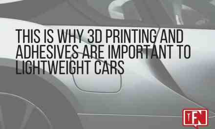 This is Why 3D Printing and Adhesives Are Important to Lightweight Cars