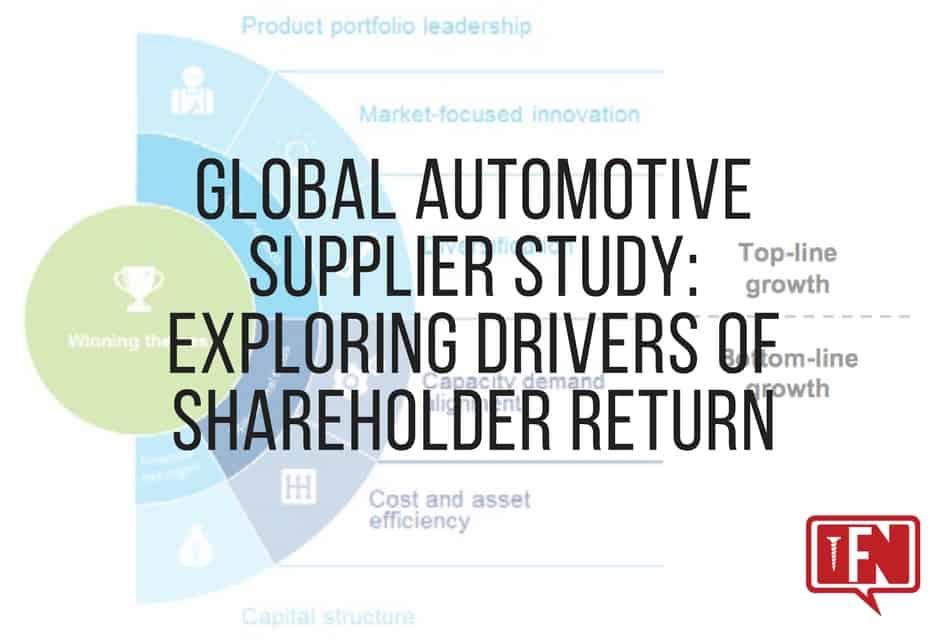 Global Automotive Supplier Study: Exploring Drivers of Shareholder Return