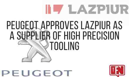 Peugeot Approves Lazpiur as a Supplier of High Precision Tooling