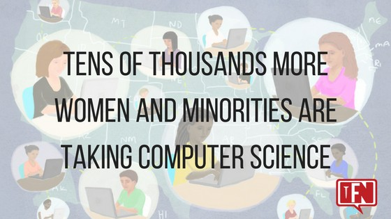 Tens Of Thousands More Women And Minorities Are Taking Computer Science