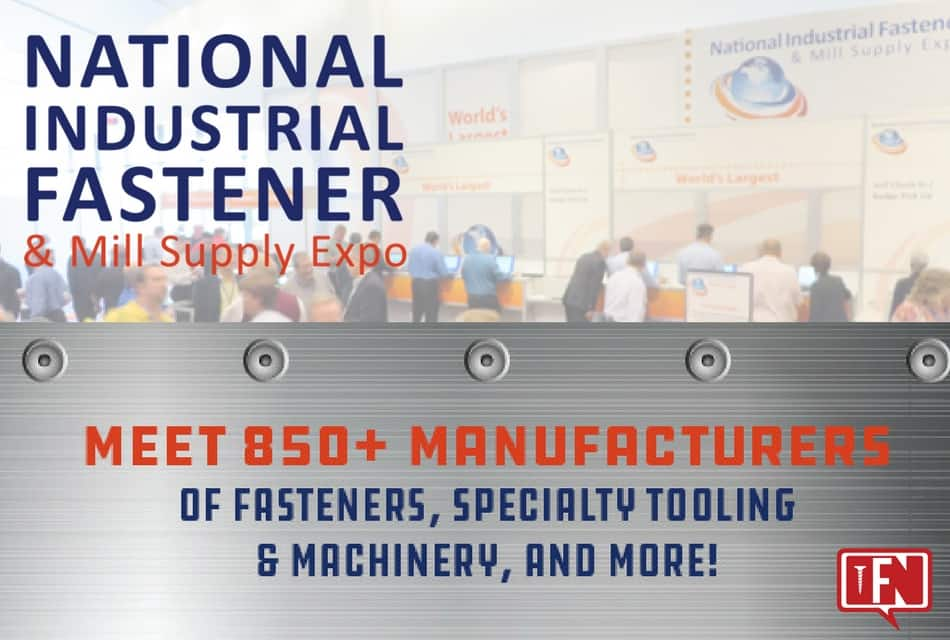 Attend the Largest Fastener Show in No. America!