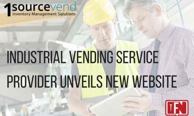 Industrial Vending Service Provider Unveils New Website